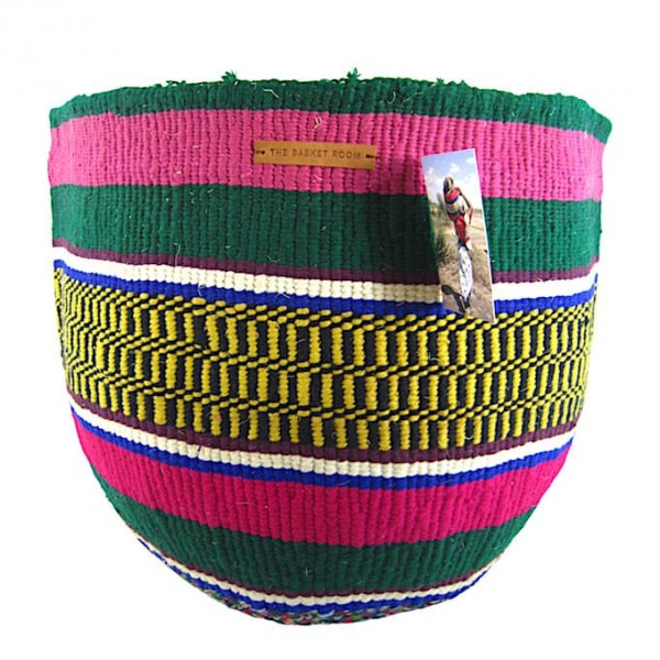 Kiondo Korb - Wolle & Sisal - Kiambu