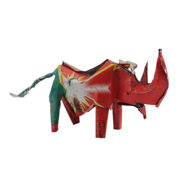 Nashorn - Recycling Blechtiere