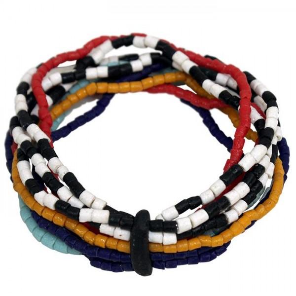 Namib Armband - Multi - Glasperlen