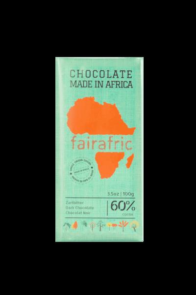 Fairafric Schokolade - Zartbitter 60% - Ghana