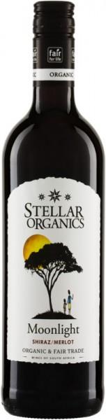 Moonlight Shiraz Merlot 2020 Stellar Organics Bio Fairtrade Wein Südafrika Rotwein