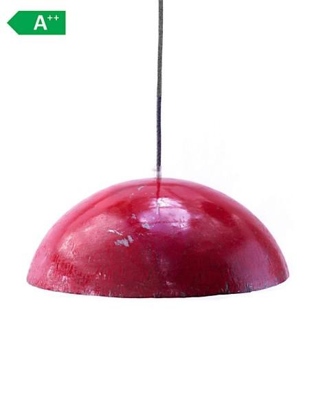 Upcycling Deckenlampe - Ölfass XL - Rot