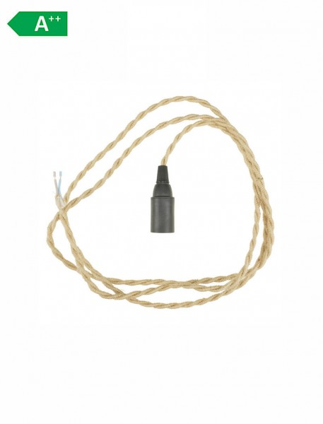 Zubehör Kabel - Chako Bottle Lampe - Jute & Textil
