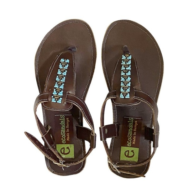 Afrikanische Sandalen Ledersandalen Ecosandals Fair Trade