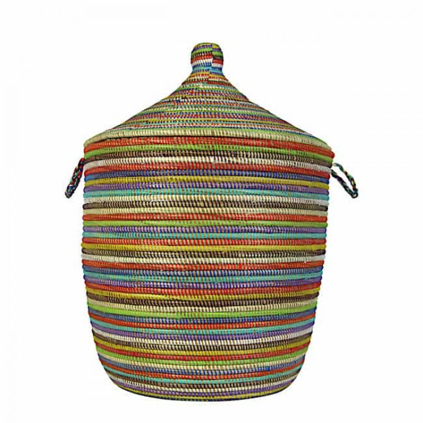 Wäschekorb Senegal M - Stripes - Bunt