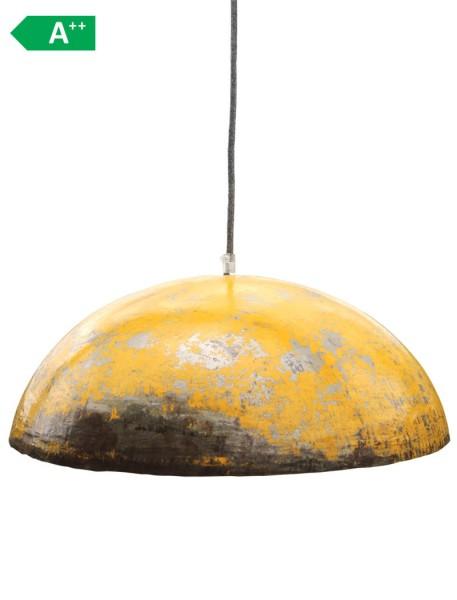 Ölfass Deckenlampe Gelb XL Upcycling