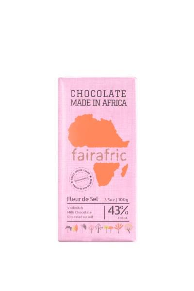 Bio Schokolade aus Ghana Vollmilch 34%