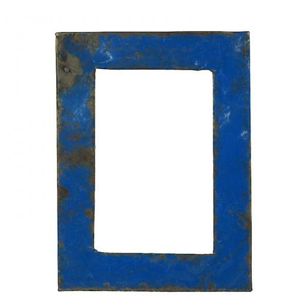 Upcycling Bilderrahmen - Wand 15x20 - Blau