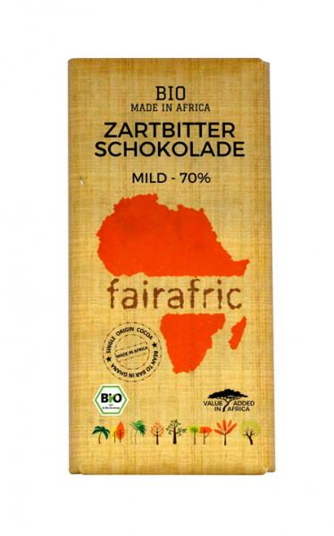 Fairafric Schokolade aus Ghana Zartbitter 70%