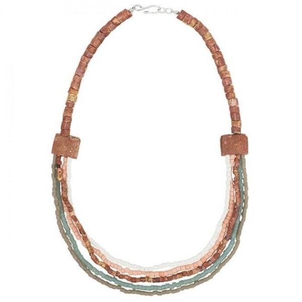 Sedona Halskette - Stone - Glasperlen