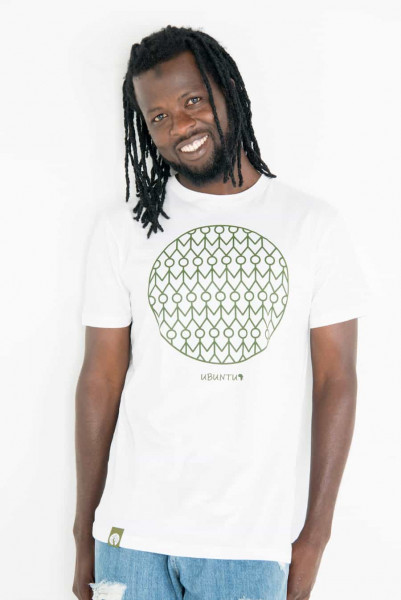 Ubuntu - Men - Weiß - Organic Shirt