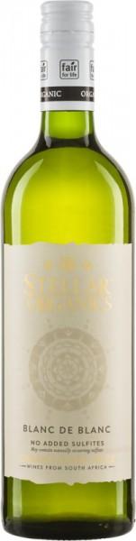 Blanc de Blanc 2020 Stellar Organics ohne SO2 Zusatz sulfitfrei Südafrika
