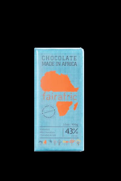 Faire Schokolade - Vollmich 43% - Ghana