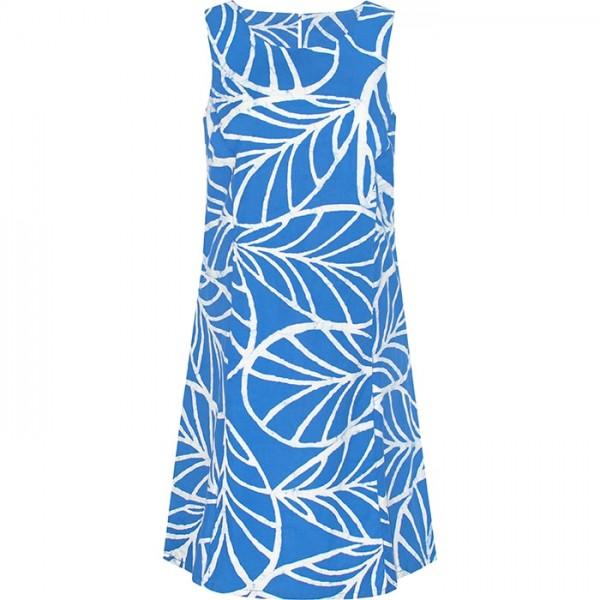 Bio Kleid Global Mamas Boardwalk Dress Canopy Blue Fairtrade