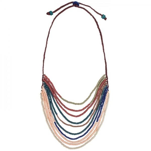 Namib Halskette - Royale - Glasperlen