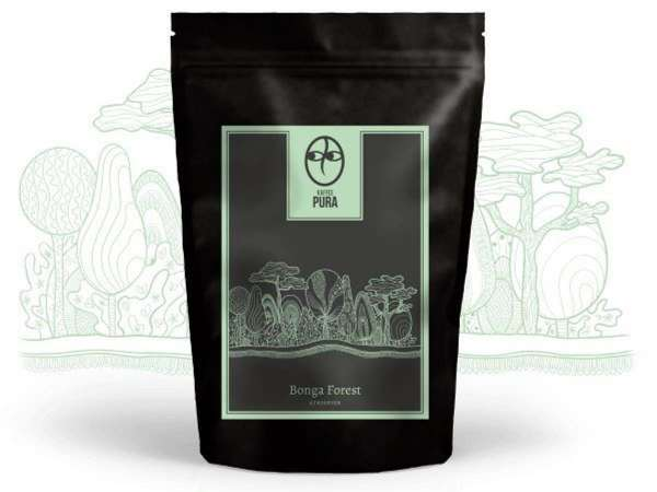 Bio Kaffee Bonga Forest Äthiopien
