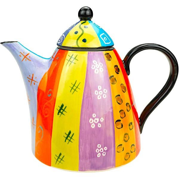 Kapula Keramik - Kaffeekanne XXL - Multicoloured