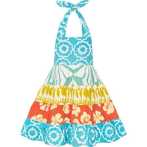 Girls Carousel Dress - Chroma Sky Blue