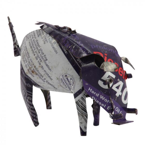 Warzenschwein - Recycling Blechtiere