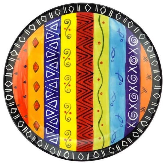 Kapula Keramik Multicoloured Ethnic Essteller
