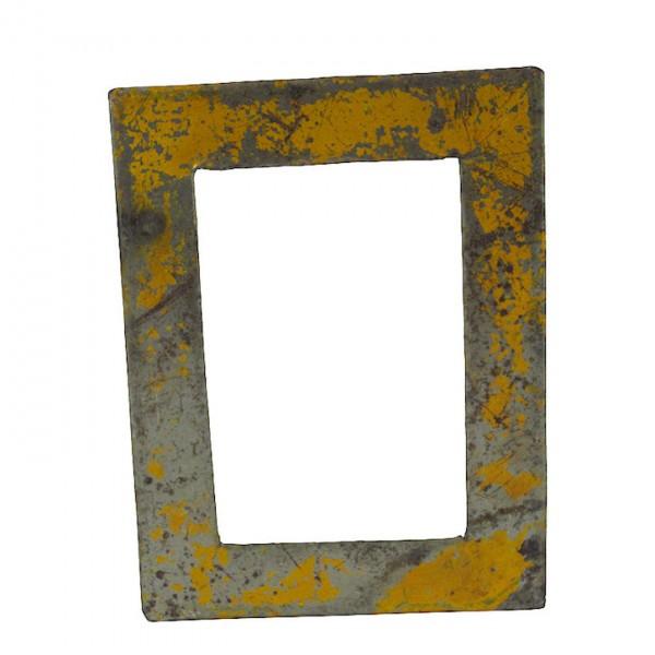 Upcycling Bilderrahmen - Wand 15x20 - Gelb