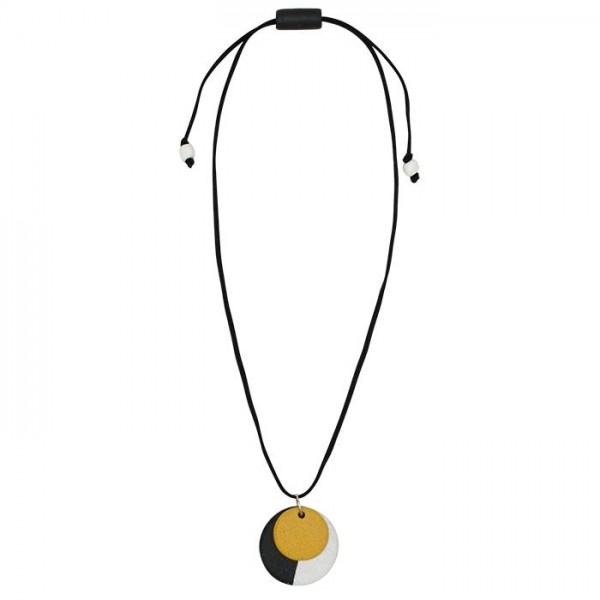 Amulett Halskette Rund Kreis Fair Trade
