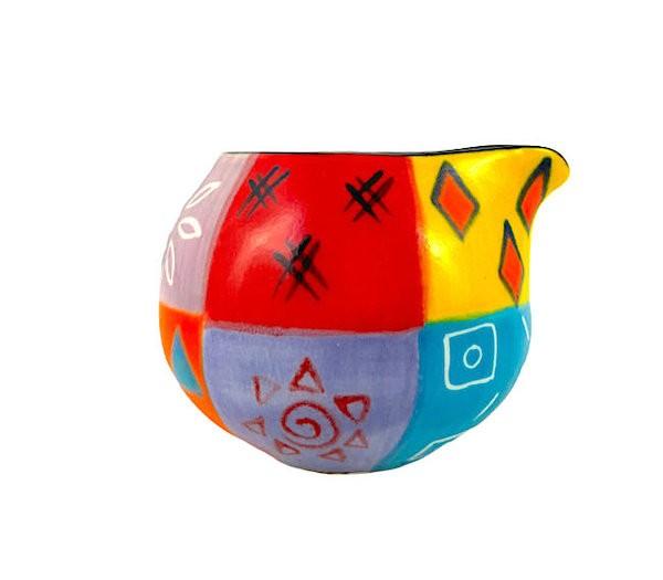 Kapula Keramik - Milchkännchen - Multicoloured