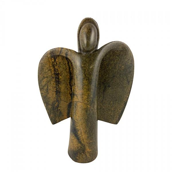 Engel aus Stein afrikanische Steinkunst Shona Art