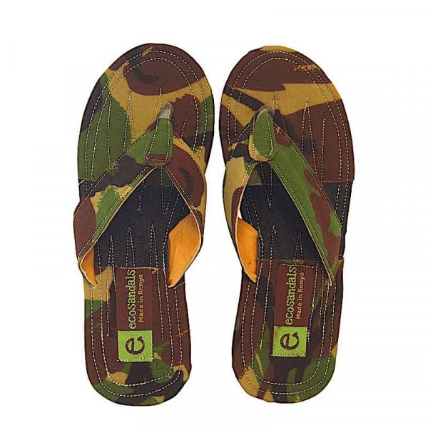 Upcycling Flip Flops - Dawa - Camouflage