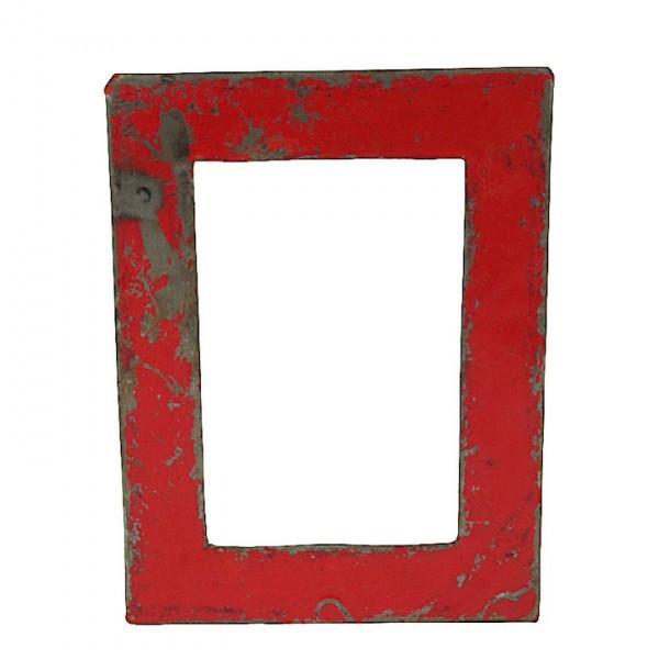 Upcycling Bilderrahmen - Wand 15x20 - Rot