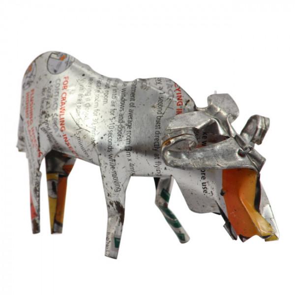 Büffel - Recycling Blechtiere