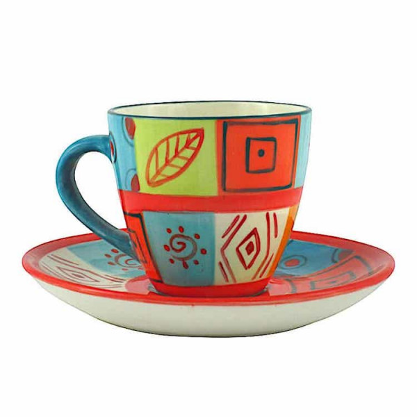 Kapula Keramik - Kaffeetasse 280ml - Desert Rose