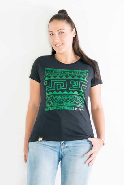 Bahati - Woman - Schwarz - Organic Shirt