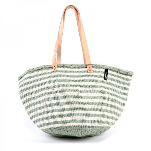 Kiondo Tasche M - Thin Stripes - Hellgrün