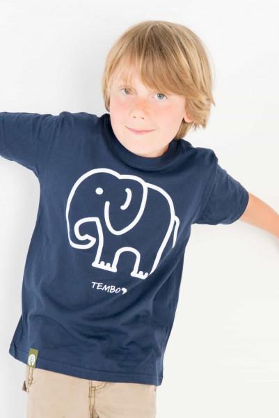 Tembo - Unisex - Blau - Organic Shirt