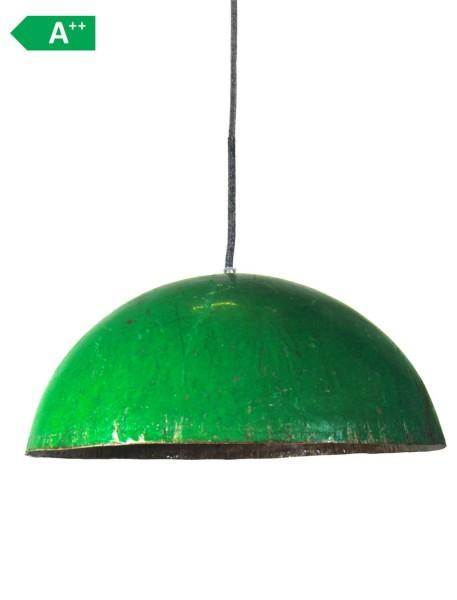 Upcycling Deckenlampe - Ölfass XL - Grün