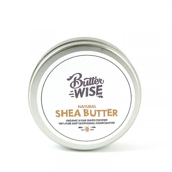 Unraffinierte Sheabutter - 125g - Ghana