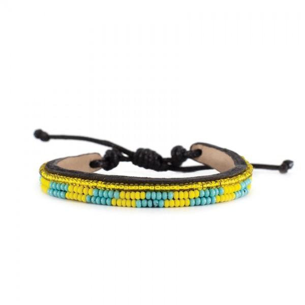 Massai Armband - Mogusi Leder - Unisex