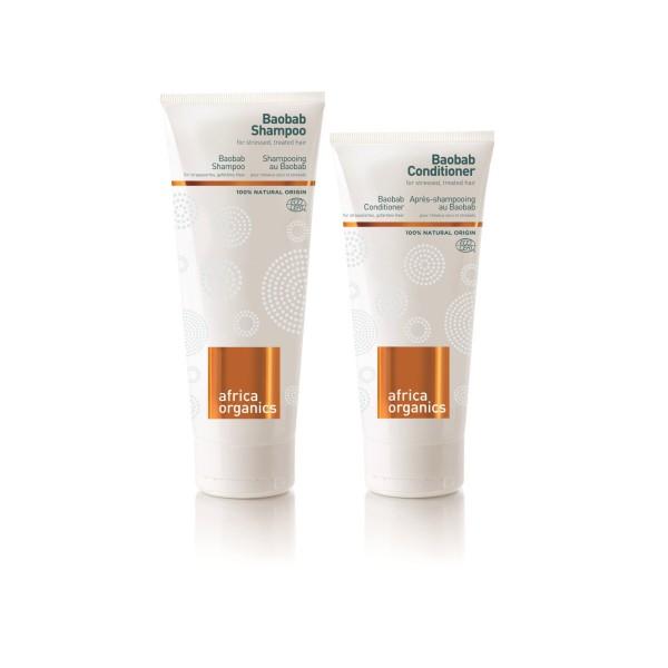 Baobab Shampoo & Spülung - Set